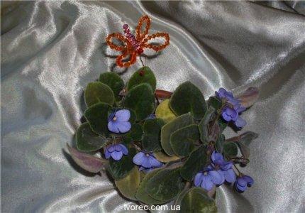 бабочки из бисера мастер класс - Мир бисероплетения.