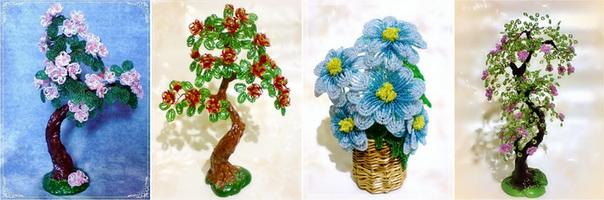 мир цветов и деревьев из