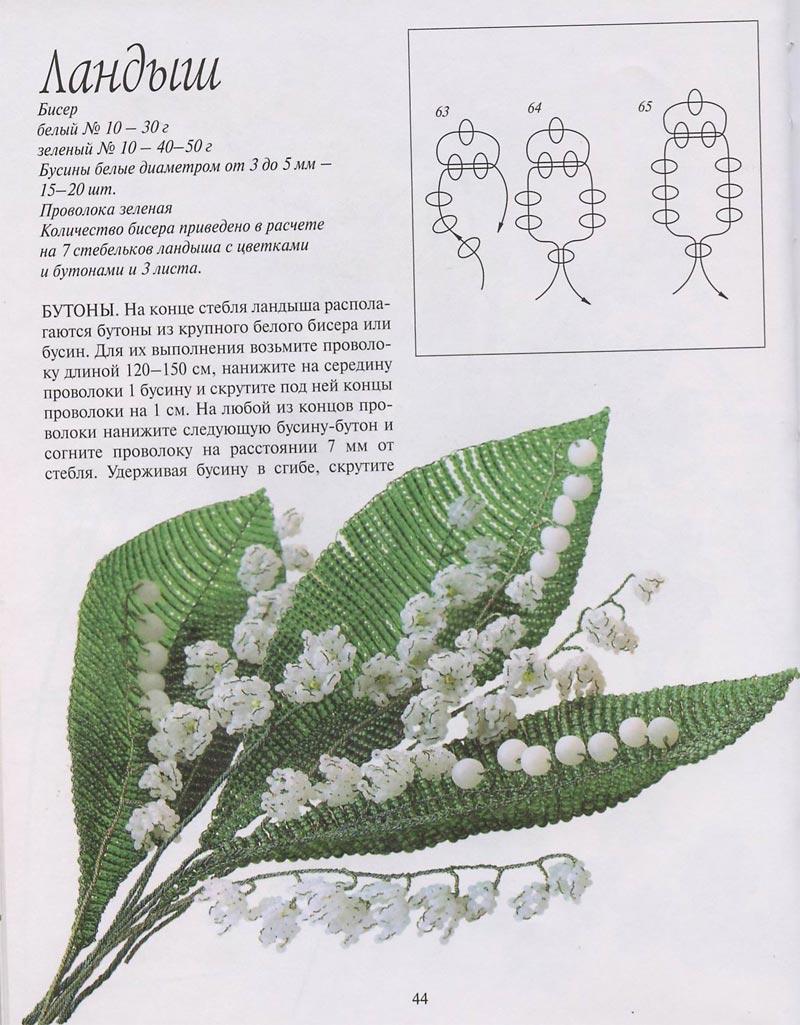 Герберы - цветы из бисера, схемы плетения / Бисероплетение, поделки. повязки на голову крючком схемы.