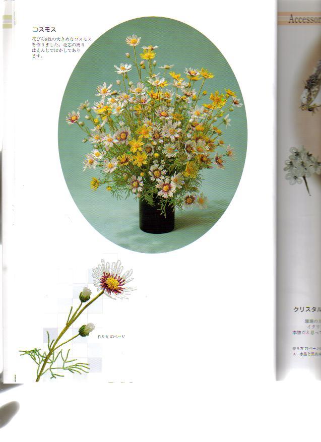 Как сделать фрукты,ягоды,цветы и др. из бисера.Схемы и иллюстрации.